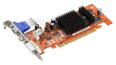 Видеокарта ASUS Radeon X300 SE 325Mhz PCI-E 128Mb 400Mhz 64 bit DVI TV