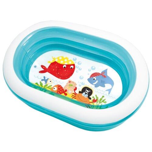 Детский бассейн Intex Oval Whale Fun 57482 детский бассейн intex океан 56452