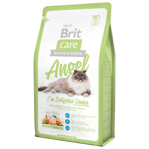 Brit Care Angel I'm Delighted Senior (2.0 кг) Корма для кошек