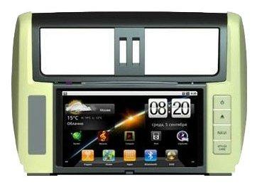 "Автомагнитола CarSys Android Toyota Prado 150 7"""