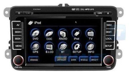 Автомагнитола FlyAudio E7507BNAVI Volkswagen Passat CC