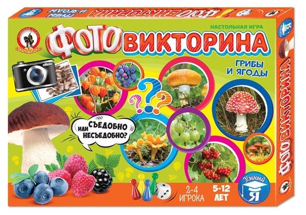 Настольная игра Русский стиль Грибы и ягоды