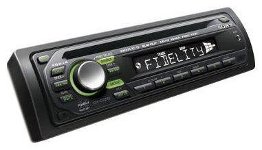 Автомагнитола Sony CDX-GT227EE