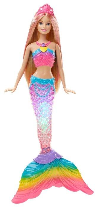 Кукла Barbie Радужная русалочка Gem Fasion, 28 см, DHC40