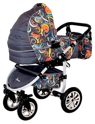 Универсальная коляска Happych Fiorino Alu (2 в 1)