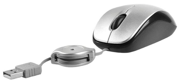 Мышь Tracer Yaggy Silver-Black USB