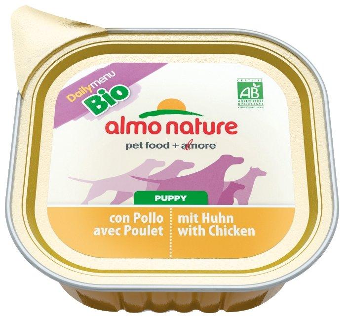 Корм для щенков Almo Nature Daily Menu курица 100г