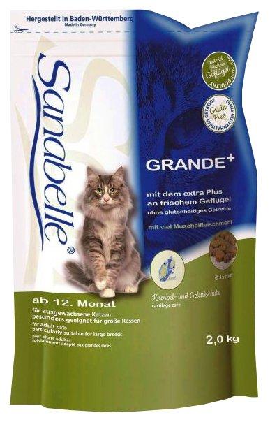 Сухой беззерновой корм для взрослых кошек Sanabelle