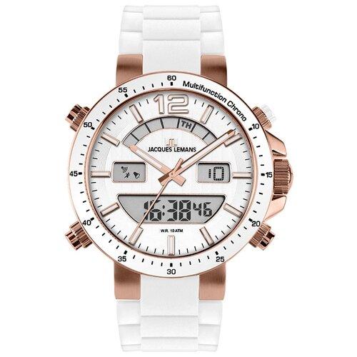 цена Наручные часы JACQUES LEMANS 1-1712Q онлайн в 2017 году