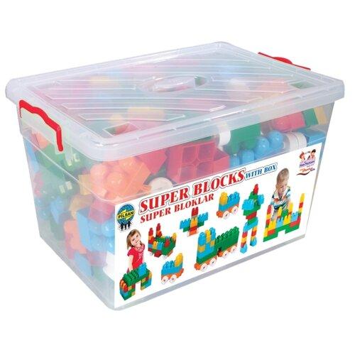 Купить Конструктор pilsan Super Blocks 03-198 300 деталей, Конструкторы