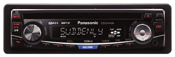 Автомагнитола Panasonic CQ-C1415N