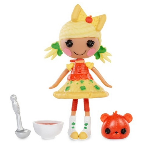 Кукла Lalaloopsy Mini Yummy Пиццалия 7 см 544555