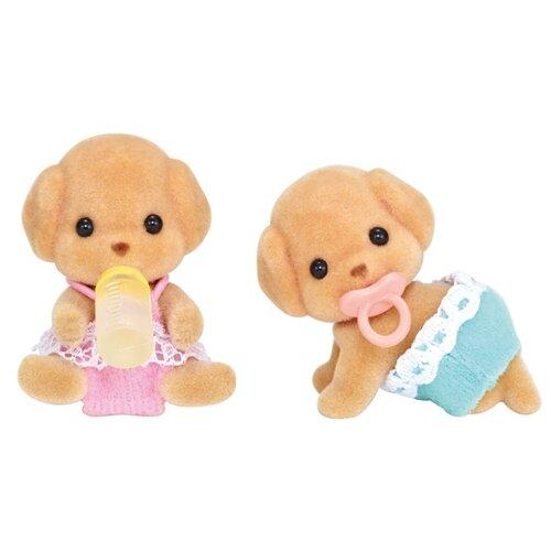 Купить Игровой набор Sylvanian Families Пудели-двойняшки 5261, Игровые наборы и фигурки