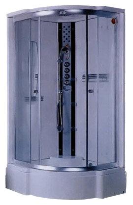 Душевая кабина Aqualux D0001 97см*97см