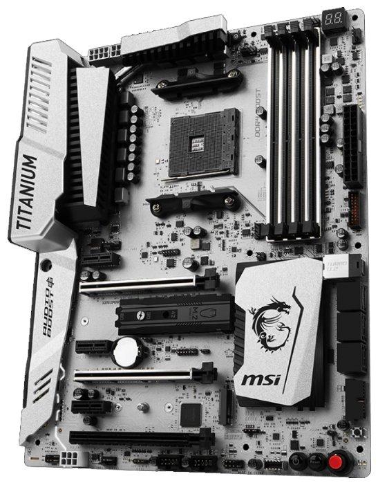 MSI Материнская плата MSI X370 XPOWER GAMING TITANIUM