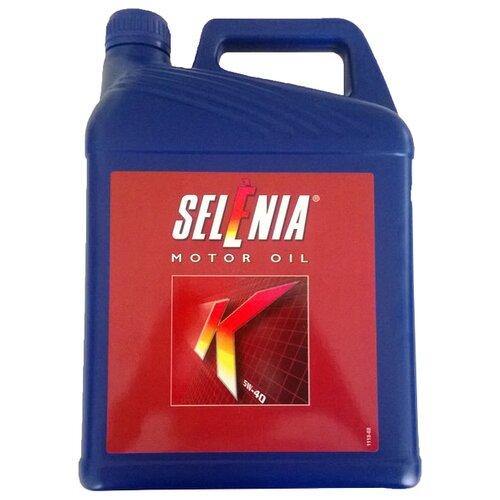 Синтетическое моторное масло Selenia K 5W-40, 5 л