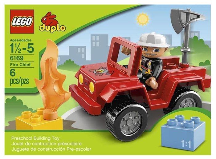 Конструктор LEGO DUPLO 6169 Начальник пожарной охраны