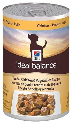 Корм для собак Hill's Ideal Balance курица 363г