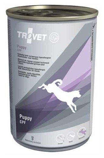 Корм для собак TROVET Puppy CPF canned