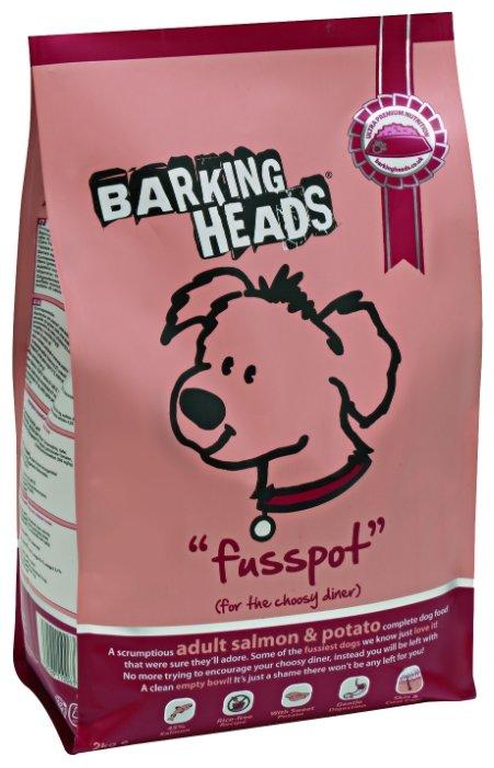 Корм для собак Barking Heads Для собак с лососем и картофелем Мисочку оближешь