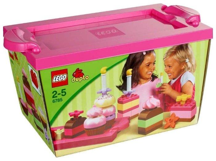 Конструктор LEGO DUPLO 6785 Весёлые тортики