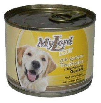 Корм для собак Dr. Alder`s МОЙ ЛОРД ПРЕМИУМ Эдалт индейка рубленое мясо Для взрослых собак (0.195 кг) 1 шт.