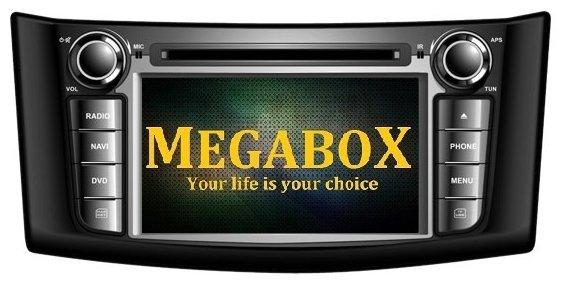 Автомагнитола Megabox Nissan Sylphy 2012 CE6623c