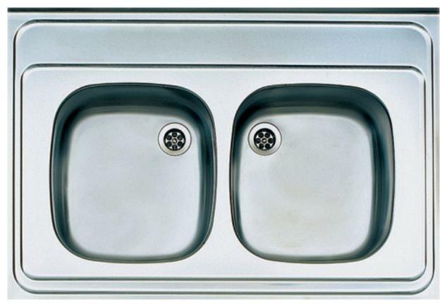 Накладная кухонная мойка ALVEUS Classic 60 90х60см нержавеющая сталь