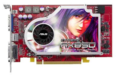Видеокарта ASUS Radeon X850 Pro 507Mhz PCI-E 256Mb 1040Mhz 256 bit DVI VIVO YPrPb