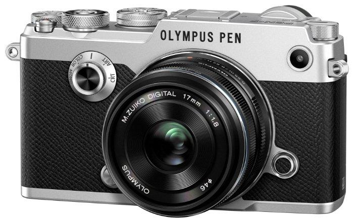 Фотоаппарат со сменной оптикой Olympus PEN-F Kit