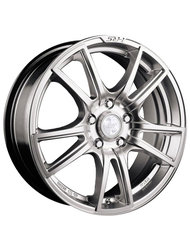 Racing Wheels H-411 6.5x15 4x98 ET 35 Dia 58.6 silver - фото 1