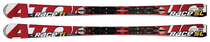 Горные лыжи ATOMIC Race Ti SL (09/10)
