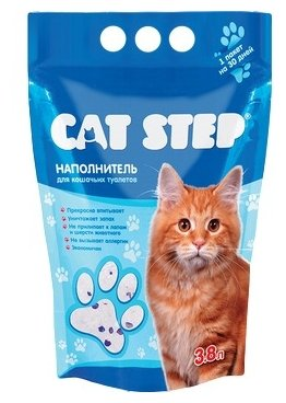 Cat Step Силикагелевый (15.2 л)
