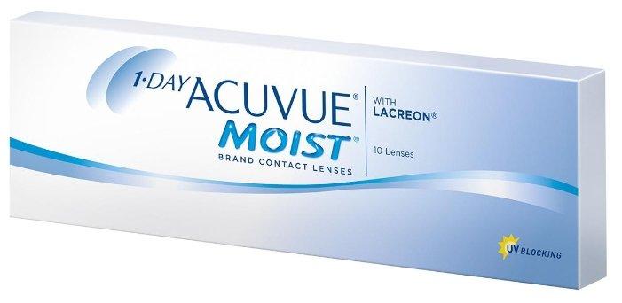 Acuvue 1-Day Moist (10 линз)
