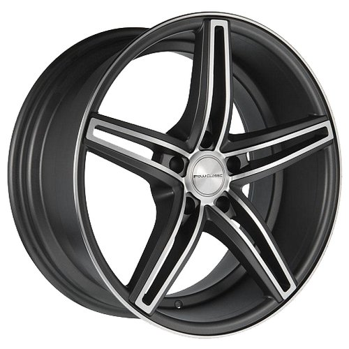 Фото - Колесный диск Racing Wheels H-583 8.5x20/5x112 D66.6 ET35 DMGM F/P колесный диск racing wheels h 412 6 5x15 5x105 d56 6 et35 ddn f p