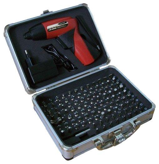 Аккумуляторная отвертка Matrix CD 4,8-104 Set