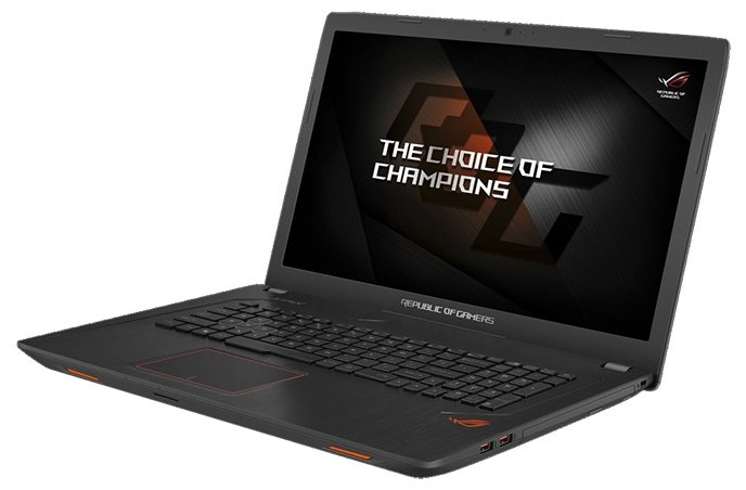 Ноутбук ASUS ROG GL753VE (Intel Core i7 7700HQ 2800 MHz/17.3