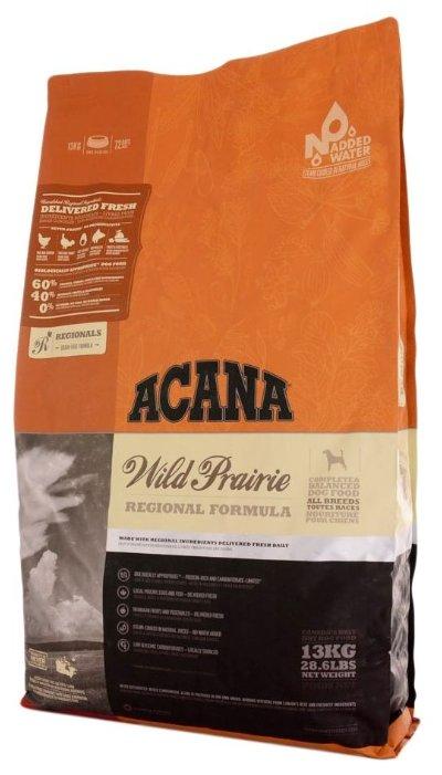 Корм для собак Acana Regionals Wild Prairie