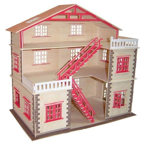 Купить Чудо-Дерево Кукольный домик PH023, коричневый/розовый, Кукольные домики