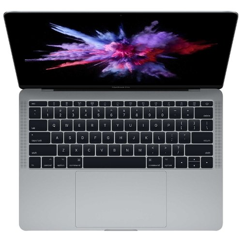 Ноутбук Apple MacBook Pro 13 with Retina display Mid 2017 (Intel Core i5 2300 MHz/13.3/2560x1600/8GB/256GB SSD/DVD нет/Intel Iris Plus Graphics 640/Wi-Fi/Bluetooth/macOS) серый космосНоутбуки<br>