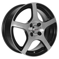 Колесные диски X'trike X-118 6x15/4x100 D60.1 ET45 BK/FP