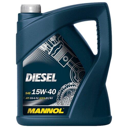 Моторное масло Mannol Diesel 15W-40 5 л