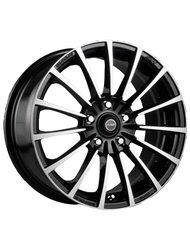 Racing Wheels H-429 6.5x15 5x114.3 ET 40 Dia 73.1 BK F/P - фото 1