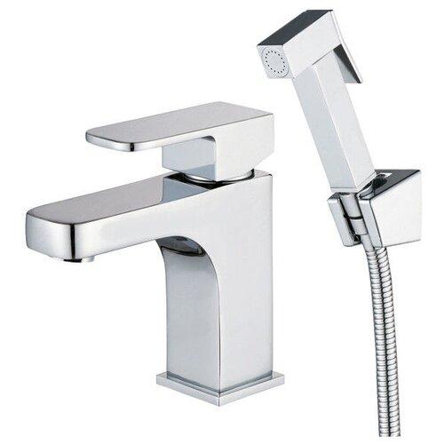 Фото - Смеситель для раковины (умывальника) KAISER Sonat 34088 однорычажный лейка в комплекте хром смеситель для раковины kaiser sonat 34088 4 с гигиеническим душем белый