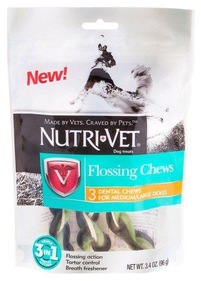 Лакомство для собак Nutri-Vet Flossing Chews