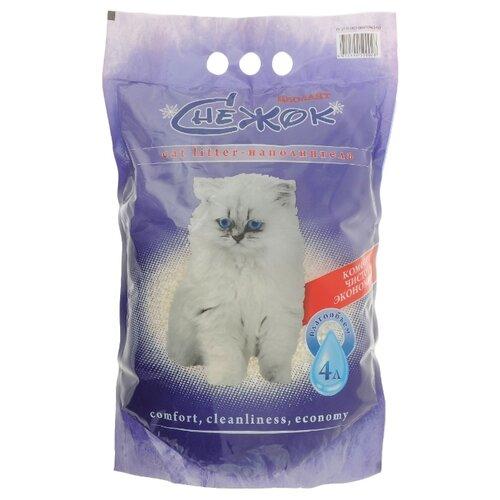 Наполнитель Снежок Цеолайт (4 л)Наполнители для кошачьих туалетов<br>