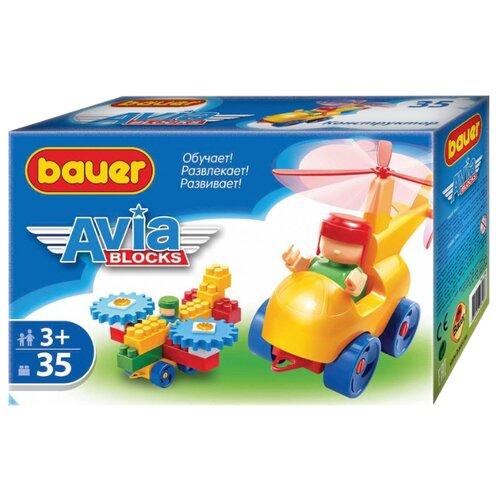 Конструктор Bauer Авиа 318 35 элементов bauer bauer конструктор avia 200 элементов