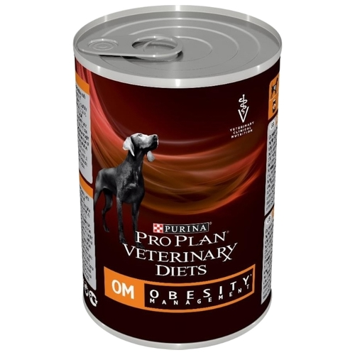 Pro Plan Veterinary Diets Canine OM Obesity (Overweight) Management canned (0.4 кг) 3 шт. Лечебные корма