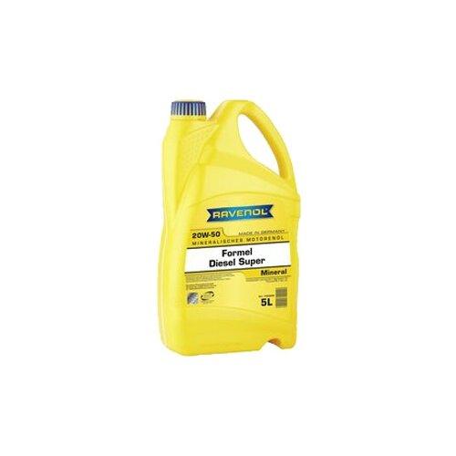 Минеральное моторное масло Ravenol Formel Diesel Super SAE 20W-50, 5 л недорого
