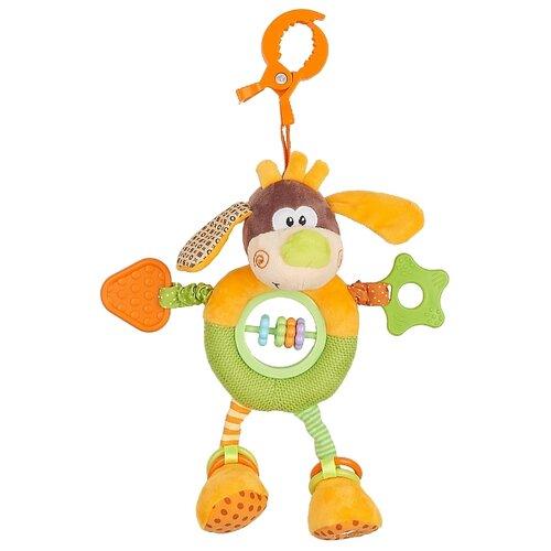 Купить Подвесная игрушка Жирафики Пёсик Том (93592) оранжевый/коричневый/зеленый, Подвески